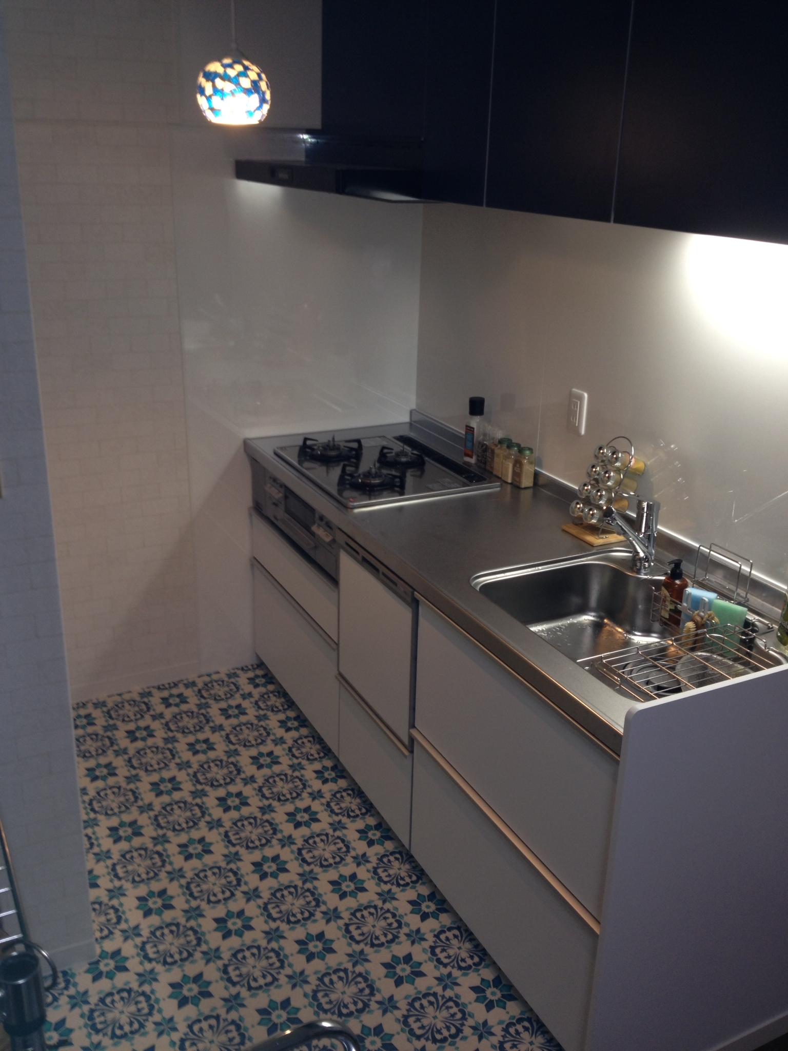 195のキッチンに食洗機