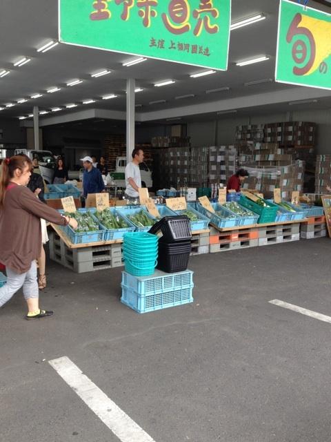 ふじみ野の青果市場